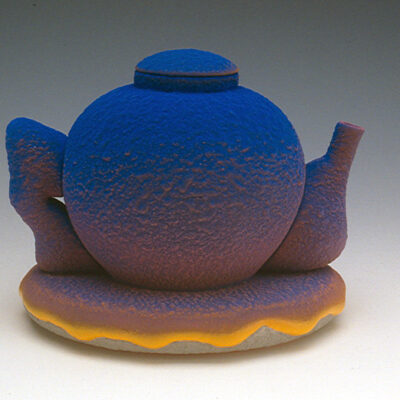 Ron Nagle, ceramic teapot, Kamm Teapot Foundation