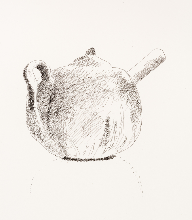 David Hockney Henry's Teapot