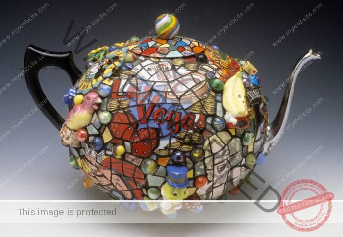 Hap Sakwa Las Vegas Teapot
