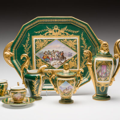Sevres Napoleon Tea Set