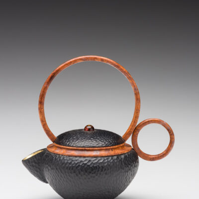 Jacques Vesery pear wood teapot