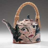 Ron Meyers ceramic teapot