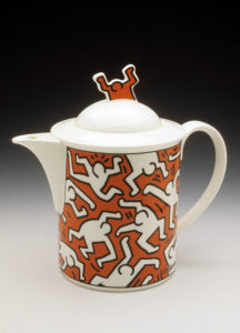 Keith Haring A Piece of Art ceramic