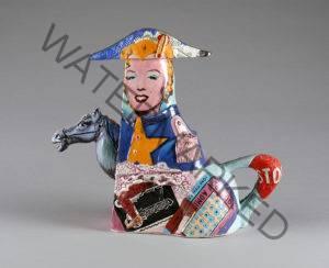 Noi Volkov ceramic teapot Pop Art