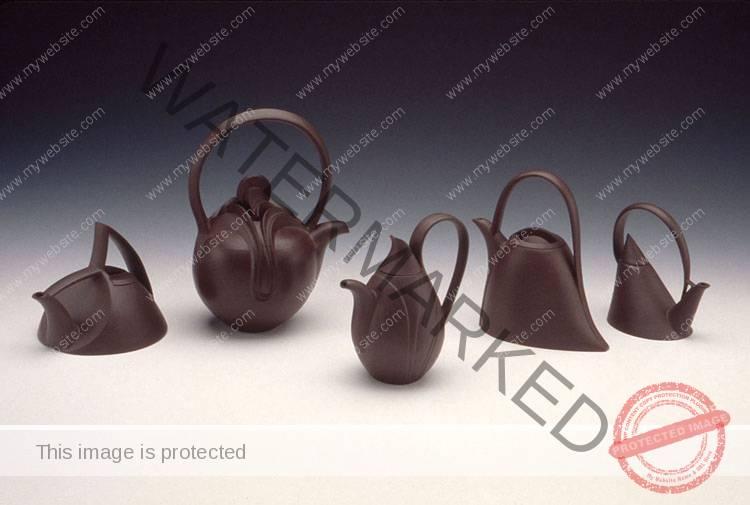 Gerald Gulotta, Five Teapots.