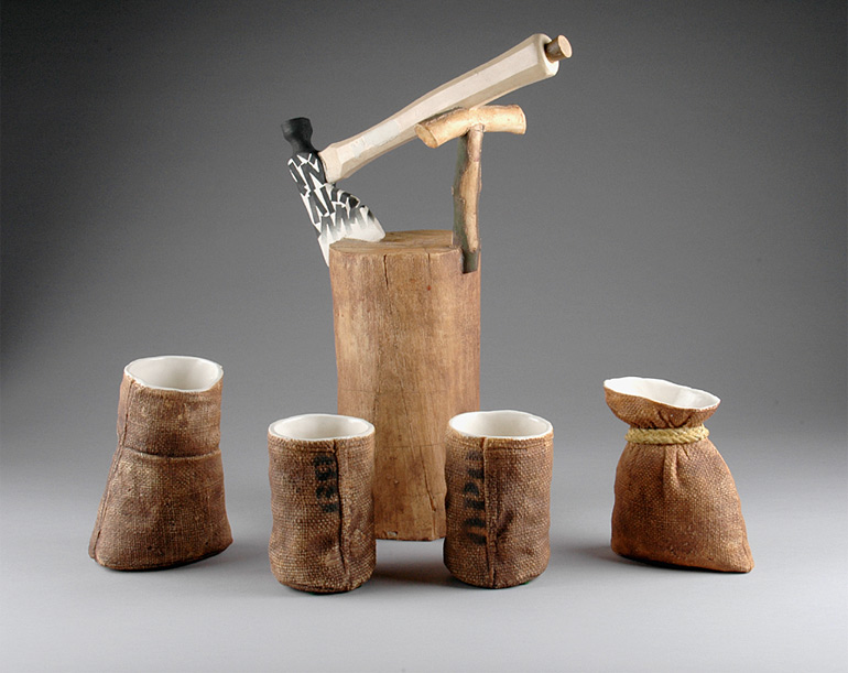 Richard Shaw Hatchet Tea Set