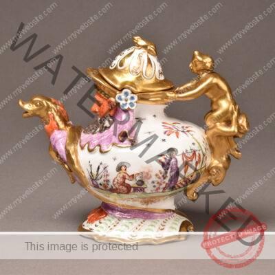 Meissen Hausmaler Teapot