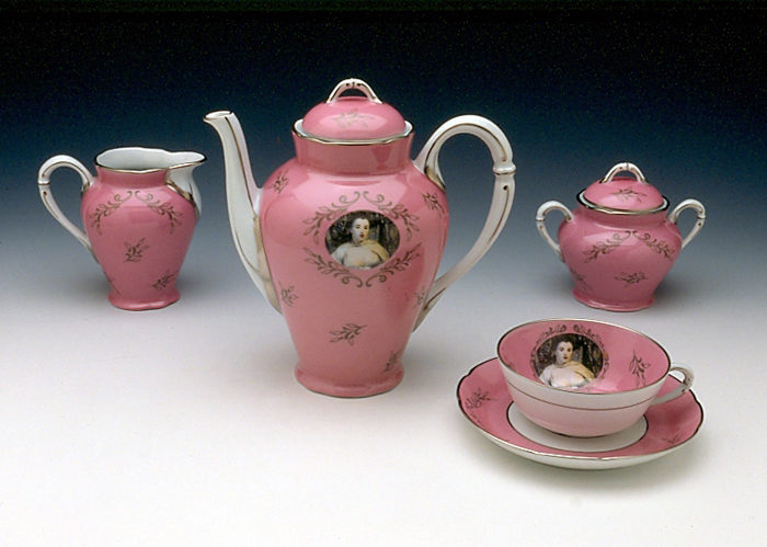 Cindy Sherman Tea Service