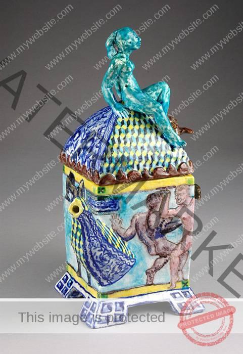 Ann Agee, Teapot 1988