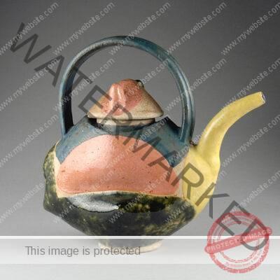 John Gill, Teapot, 1989