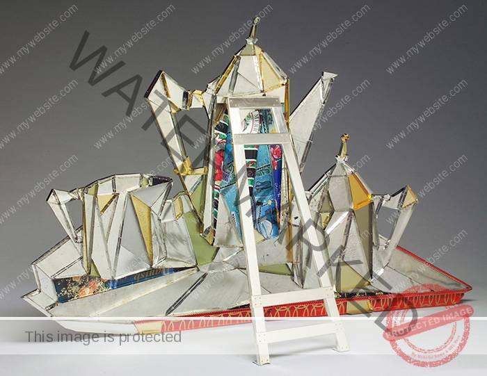 """Harriete Estel Berman, """"Cubist Coffee Service"""" 2004"""