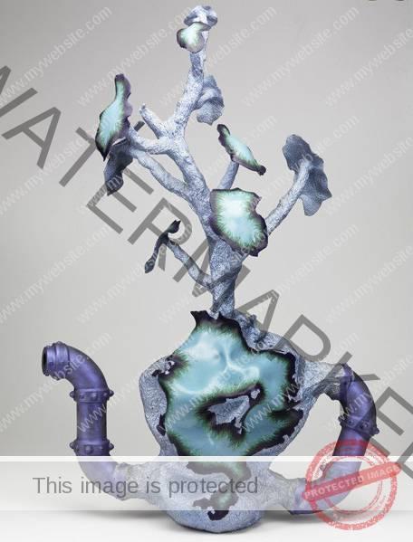 """Steven Montgomery, """"Hybrid Teapot #2"""" 1990"""