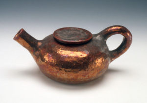 Beatrice Wood, Copper Glaze Teapot
