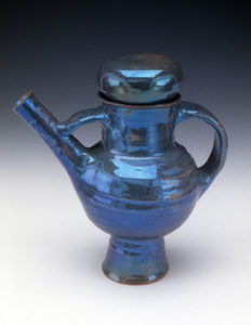 Beatrice Wood, Blue Teapot