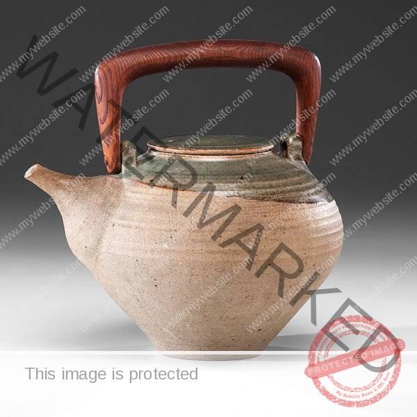 Karen Karnes, Stoneware Teapot c. 1970