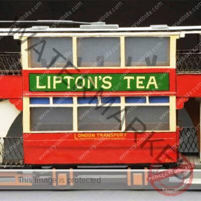 Lipton's Tea Model Tram