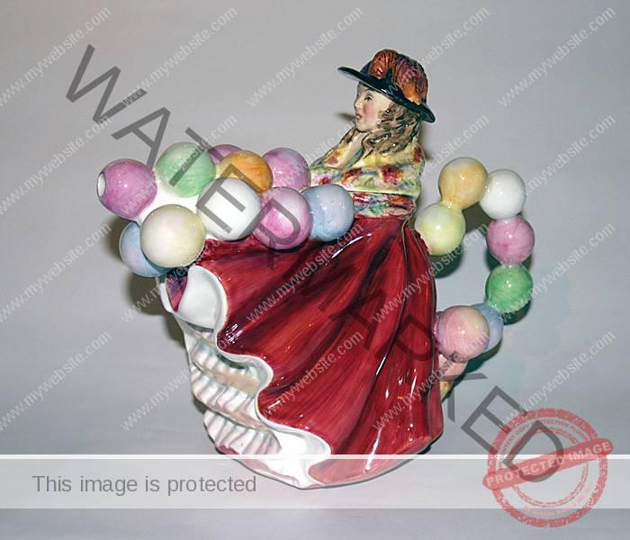 Staffordshire Fine Ceramics Balloon Seller