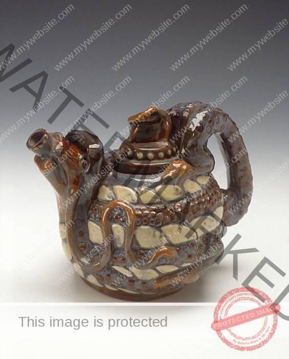 C. H. Brannam Dragon Teapot