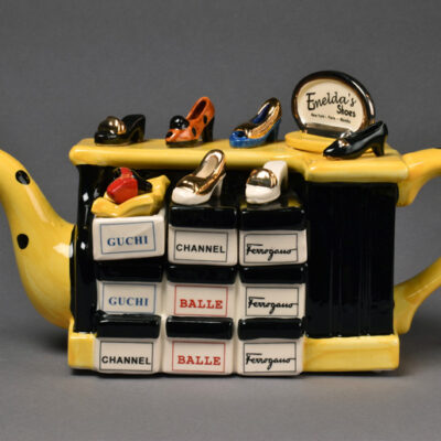 Tony Carter, Shoe Counter Teapot