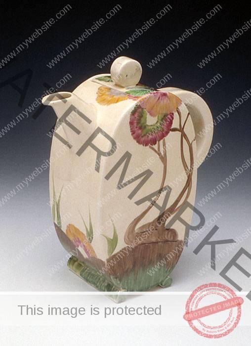 Clarice Cliff Coffee Pot