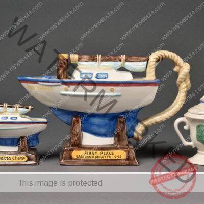 Fitz & Floyd, Regatta Tea Set
