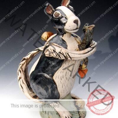 Amy Goldstein-Rice, teapot sculpture
