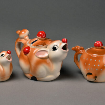 Japan, Deer Tea Set