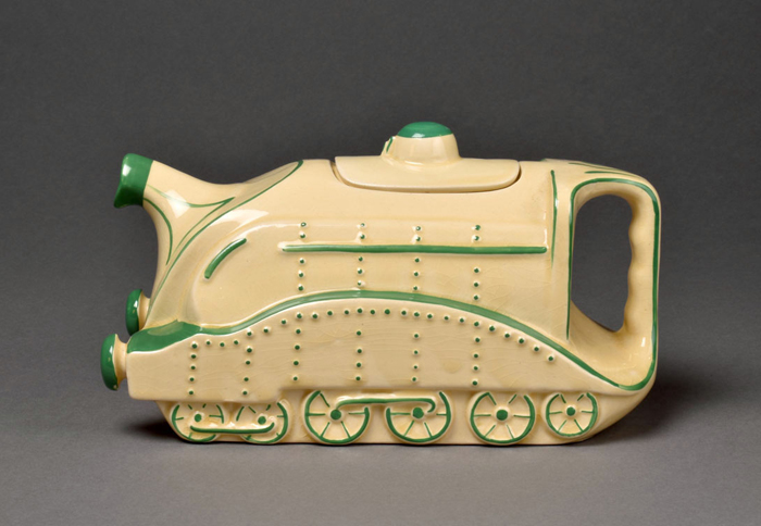 Train Engine teapot