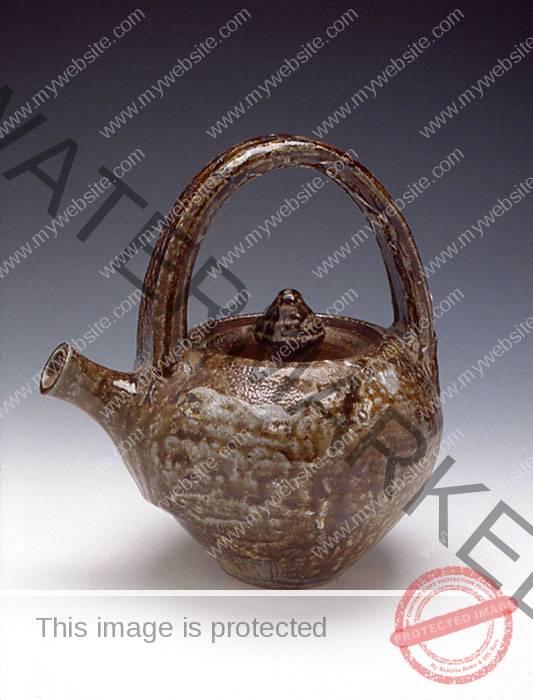 Paul Soldner Teapot