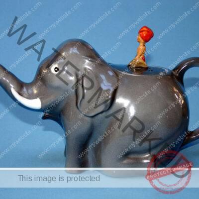 Colclough China, Sabu Elephant Teapot