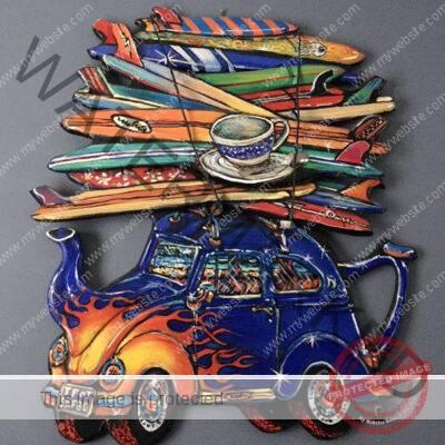 Ryan Gourley, Teapot Surf Bug sculpture