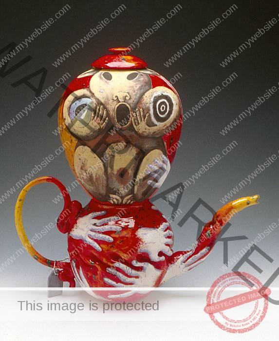 Michael Lucero teapot