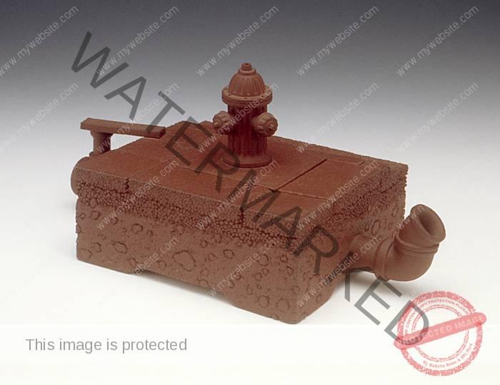 Richard Notkin, Curbside Teapot