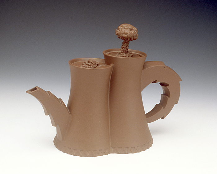 Richard Notkin, Cooling Towers Teapot