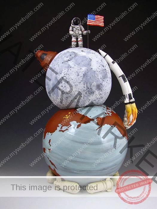 Kip O'Krongly, Space Race Teapot